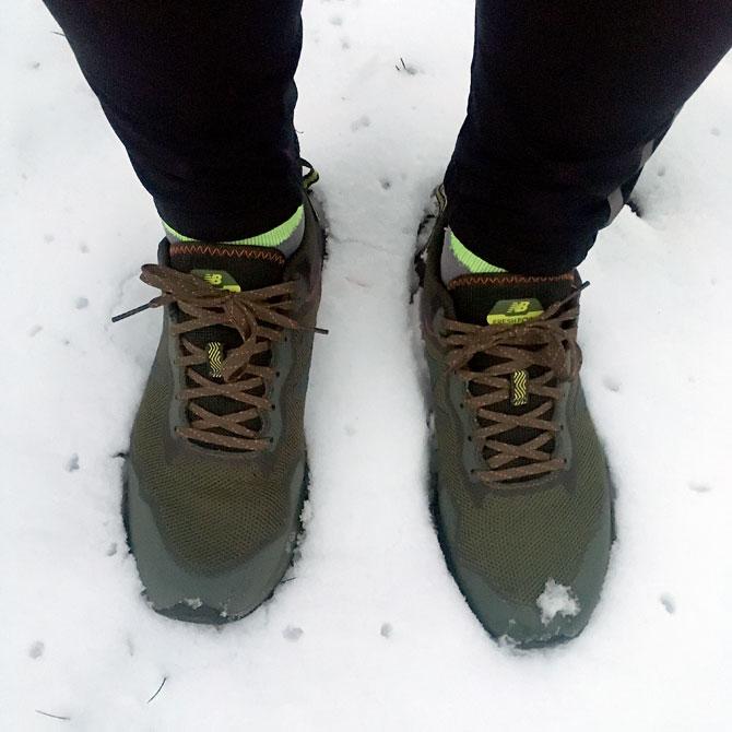 Arishi na śniegu